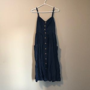 UO / Denim button down dress
